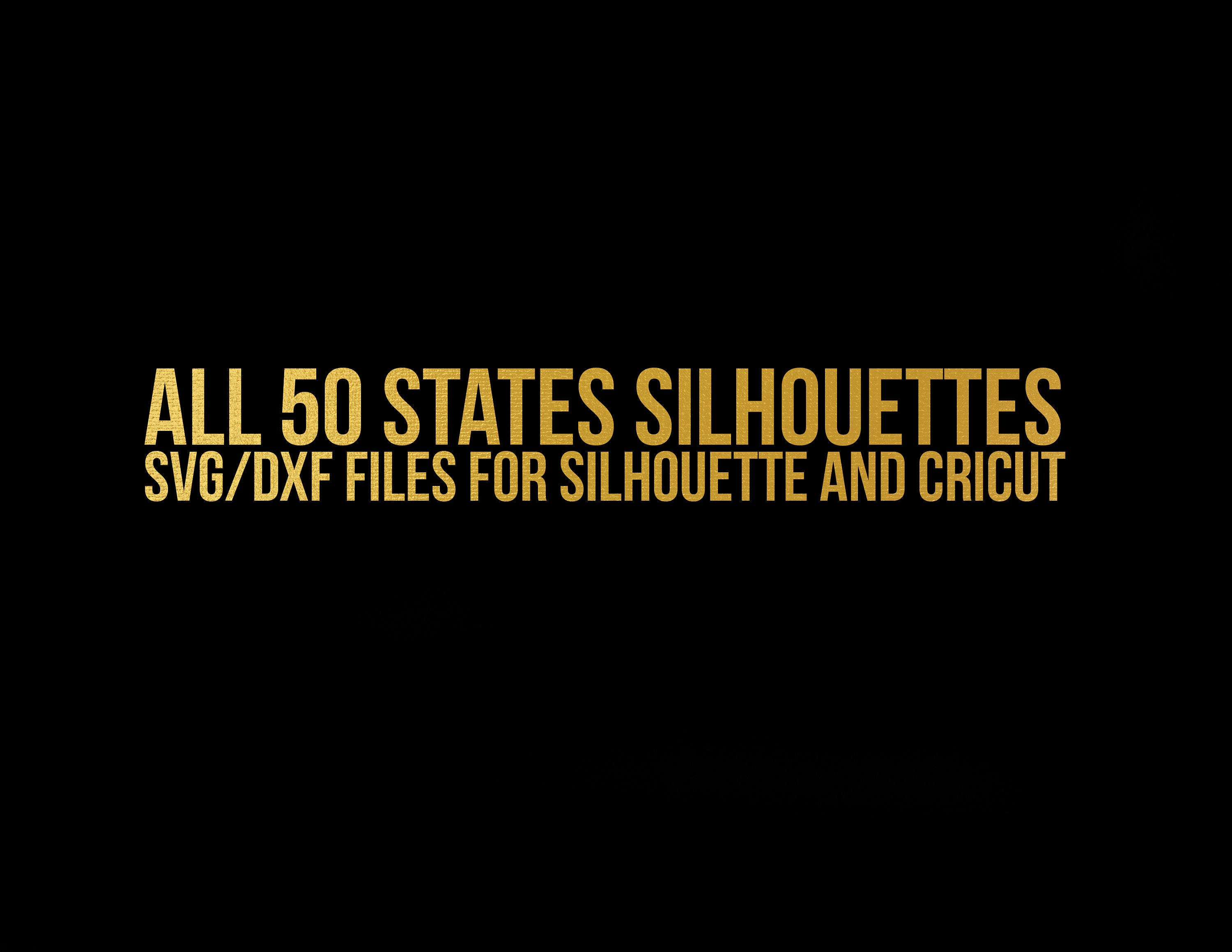 all state cut files in my shop bundle svg dxf file stencil silhouette
