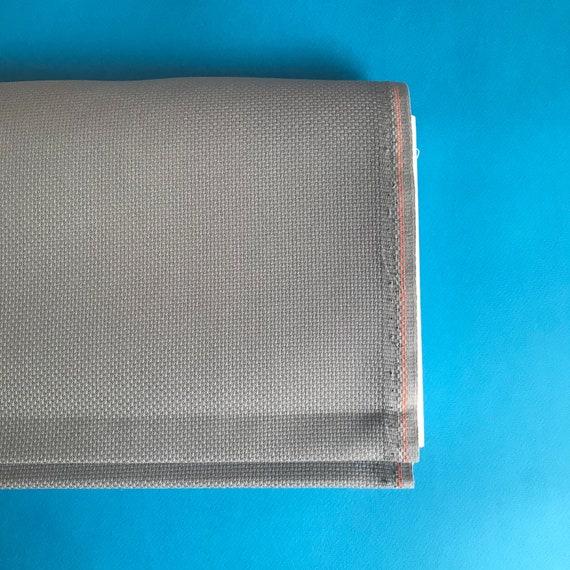 14 count aida premium cross stitch cross stitch fabric embroidery fabric dusty blue Misty blue aida fabric zweigart 100/% cotton aida