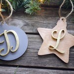 Personalized Christmas Tree Wooden Ornaments | Laser Cut Ornaments | Unique Christmas Decor | Holiday Decor | Christmas Gifts