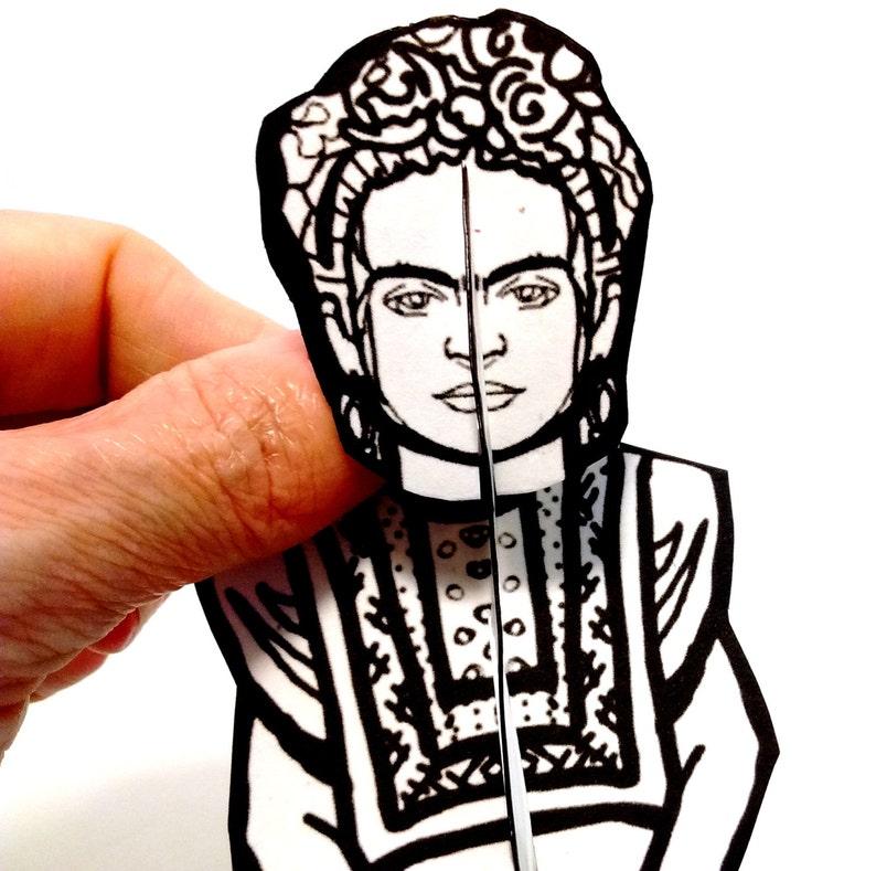 Frida Kahlo Paper Doll  Printable Toy image 0