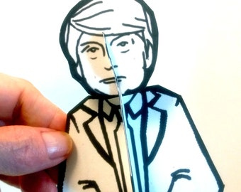 Donald Trump Paper Doll - Printable Toy