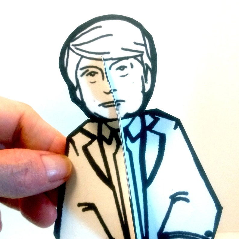 Donald Trump Paper Doll  Printable Toy image 0