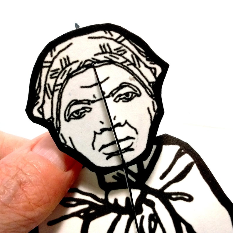 Harriet Tubman Paper Doll  Printable Toy image 0