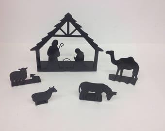 5 Piece nativity sence
