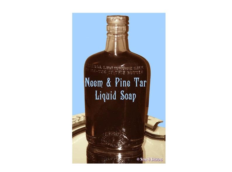 SOAP RECIPE, Neem Pine Tar Liquid Soap Tutorial with Recipe
