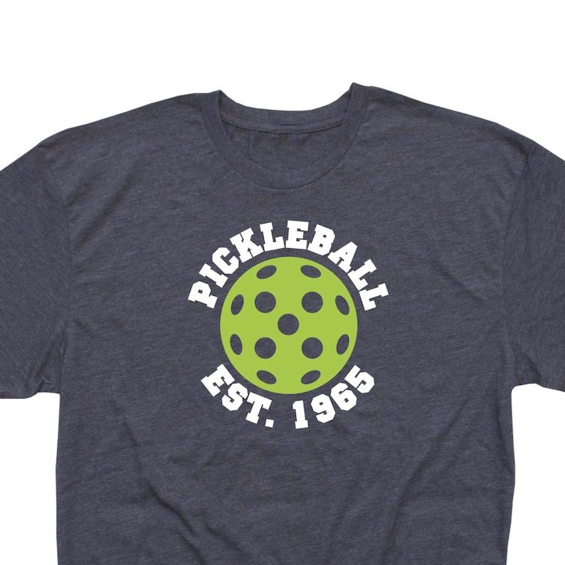 Retro Men S Pickleball T Shirt Pickleball Est 1965 Etsy