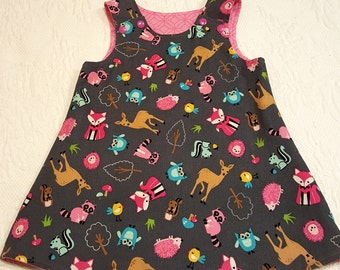 Baby Girl's Corduroy Jumper Dress Size 12 months