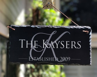 Home Address Plaque! Personalized Name Plaque. Established Outdoor Sign. Wedding Gift. House Warming Gift Address Plaque House Number Plaque