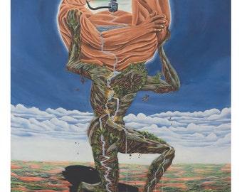 The Avarice of Man ( 21 x 27 cms )