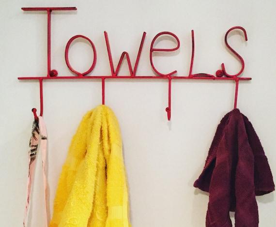 Merveilleux Towel Holder Towel Hooks Towel Rack Towel Ring Jewelry | Etsy