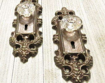 One Curtain Tie Back, Curtain Tieback, Door Plate, Door Knob Decor, Door