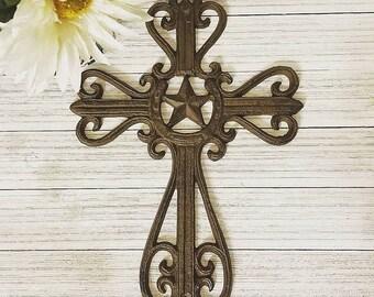 Wall Cross, Crucifix, Wall Cross Decor, Rustic Wall Decor, Rustic Cross,
