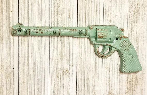 Superbe Key Holder Kitchen Wall Decor Gun Decor Gun Gift Key | Etsy