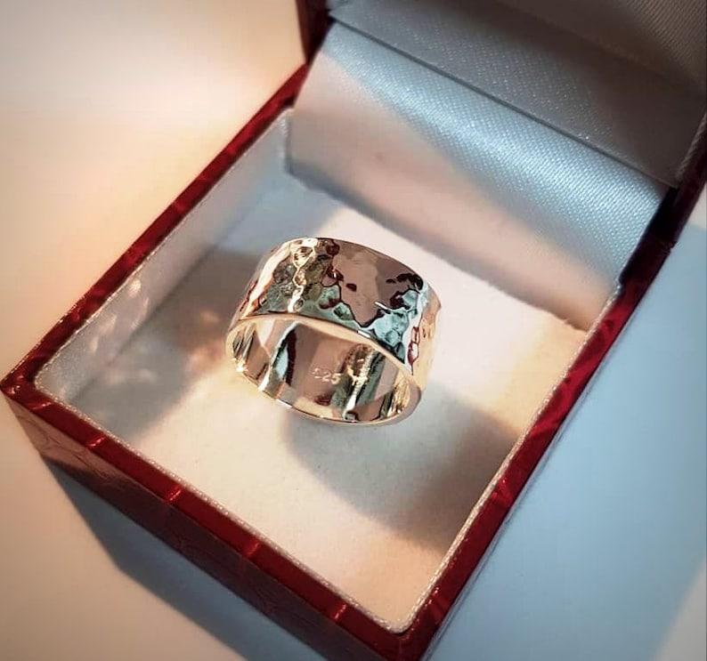 mens wedding ring silver ring irish design 925 sterling silver Silver wedding band womens wedding ring wedding ring, celtic jewelry