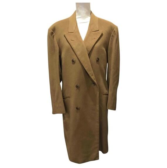 100 % cashmere camel coat
