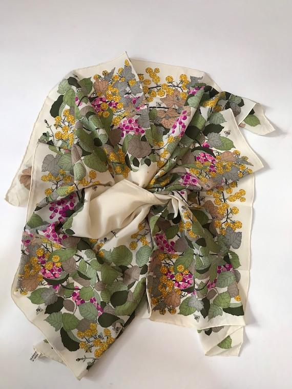 Vintage . Silk designer scarf  - image 2