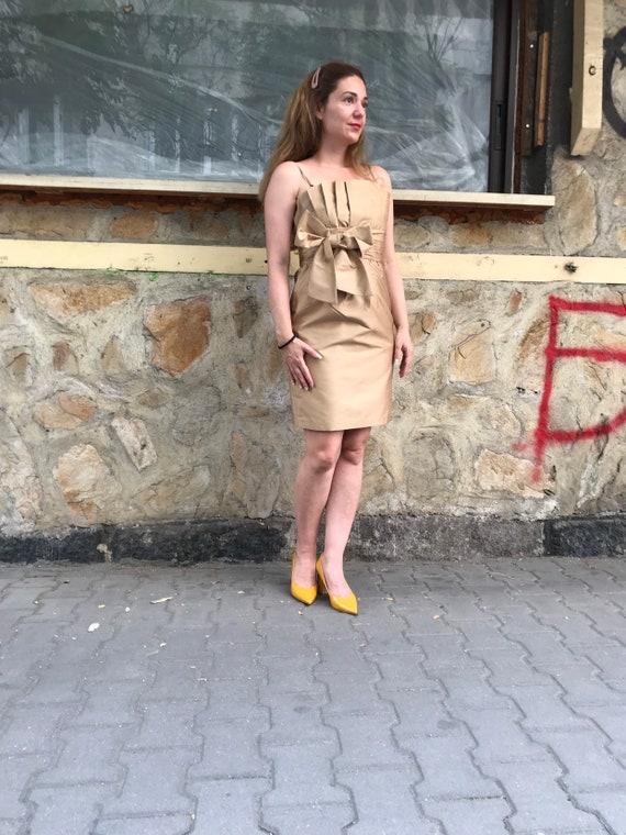 Designer silk dress / Silk coctail dress / Prom dr