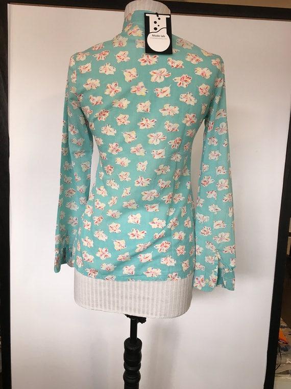CACHAREL vintage cotton shirt / cacharel vintage / - image 3