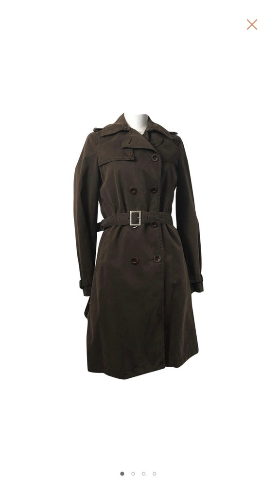 Chloe trench / vintage Chloe trench / brown trench
