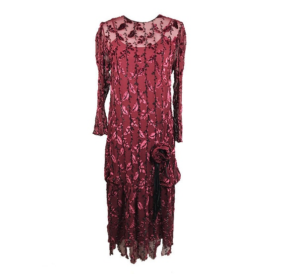 Extremely rare 1920 vintage silk dress/ 1920 stunn