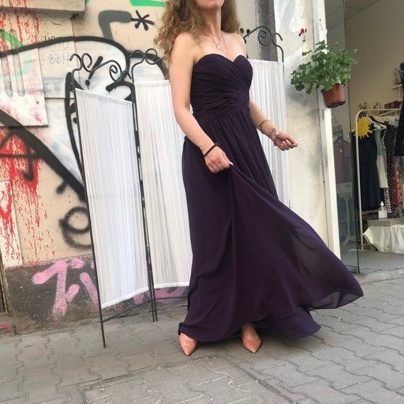 Lilac dress , gown , 90s , formal dress , prom dr… - image 5