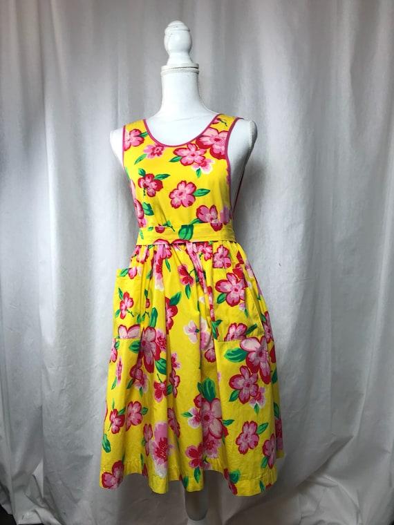 Kenzo dress  / Kenzo jungle dress / vintage Kenzo