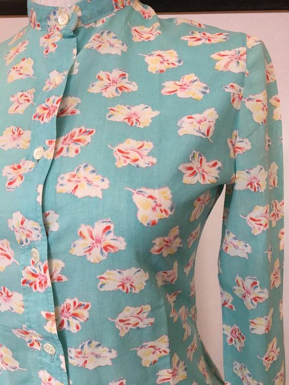 CACHAREL vintage cotton shirt / cacharel vintage / - image 2