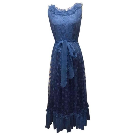 Vintage lace maxi dress / S / Princess dress vinta