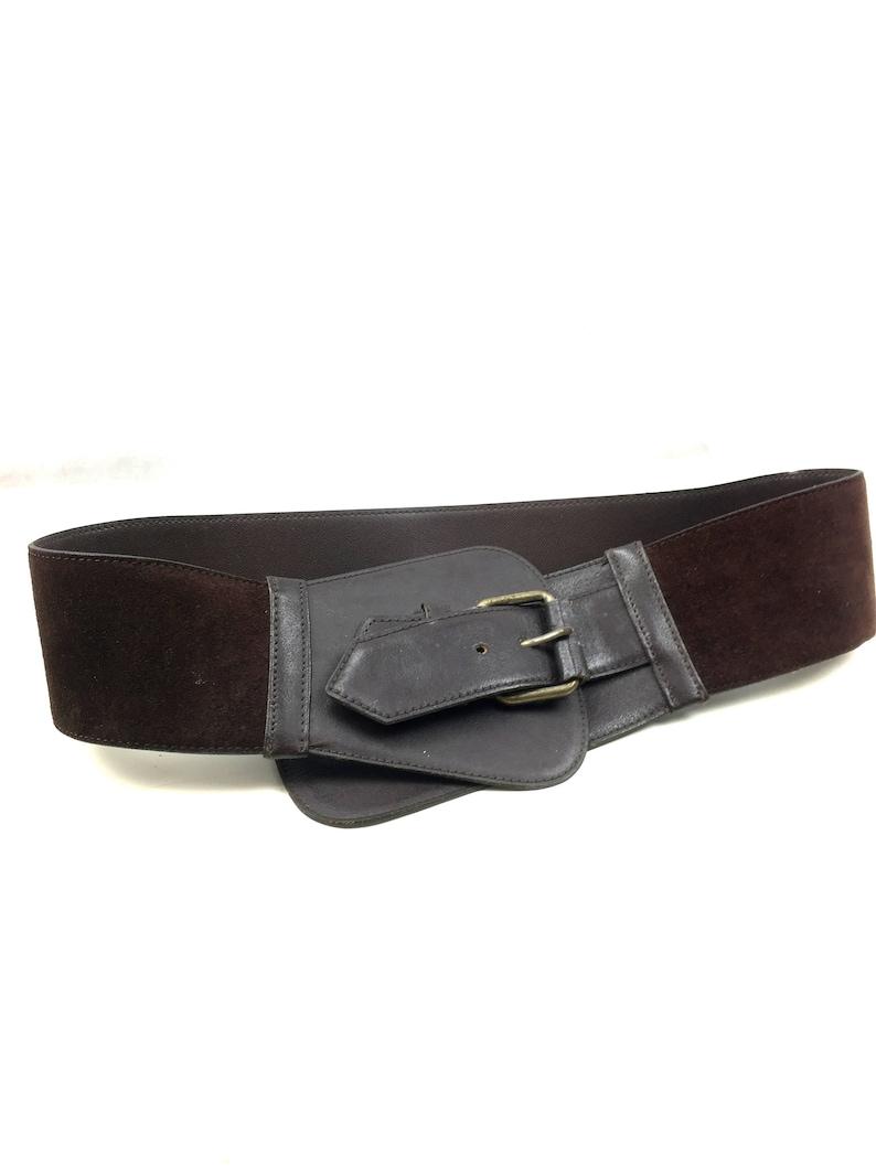 d254b73d0d3 80s Christian Dior leather belt / DIOR vintage / mint | Etsy