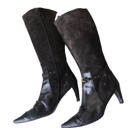 Vintage suede boots , 39 size