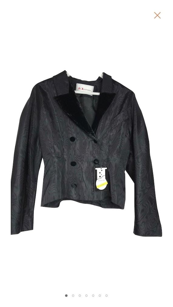 Karl Lagerfeld collectable vintage jacket . Black