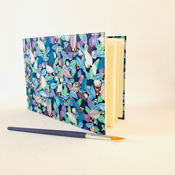 Carnet vierge de notes ou carnet à dessin format paysage