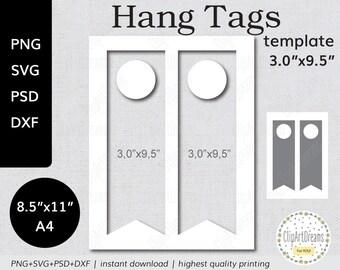 Hang Tag Svg Etsy - Door hang tag template