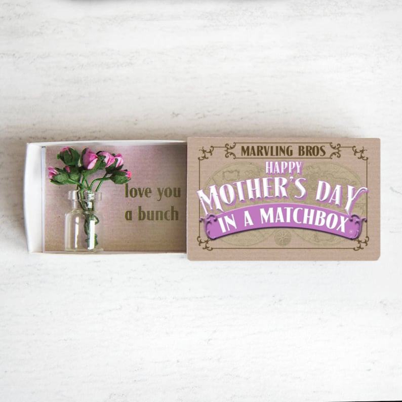 Mother's Day in a matchbox