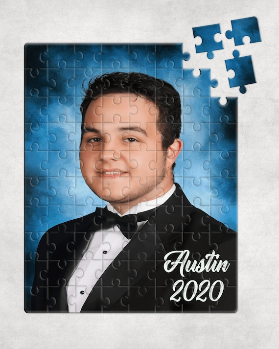 Senior 2020 Graduation Picture 80 Piece Puzzle Gift