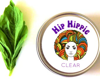 Throat Chakra Balm for Self Care + Energy Boost + Better Focus + Balance + Headace Relief | Clear