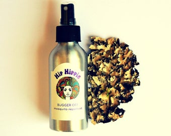 Herbal Bug Spray + Natural Insect Repellent + Mosquito Repellent + DEET Free + Camping Gear | Bugger Off