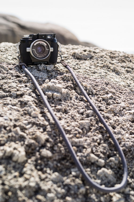 Genuine Climbing Rope Heavy Duty Professional Camera Strap Made to Measure