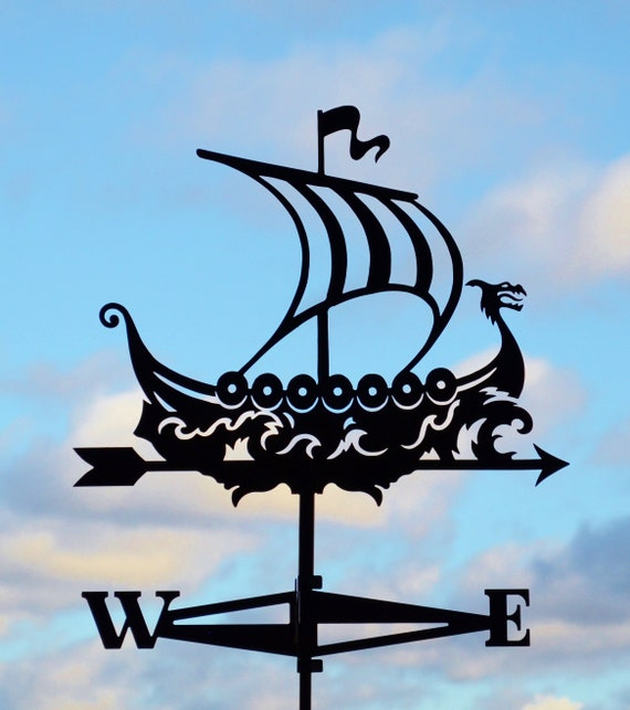 "Vinyl Wall Decal Sticker Viking Ship Boat 25/""x20/"""