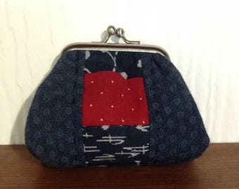 Coin Purse in quality Japanese fabrics.