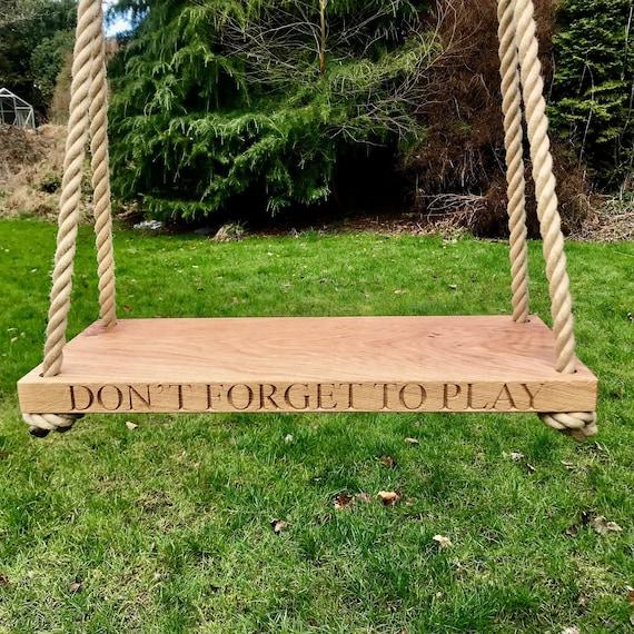 Tree Swing Family Swing Wooden Swing Wedding Swing Kids Garden Swing Garden Swing Wedding Gift Schaukel Balancoire