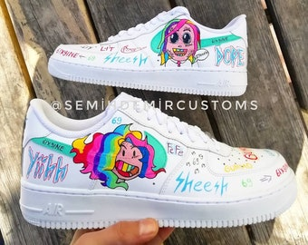 04f3044ba12fb Handpainted custom sneakers and jackets by Semihdemircustoms