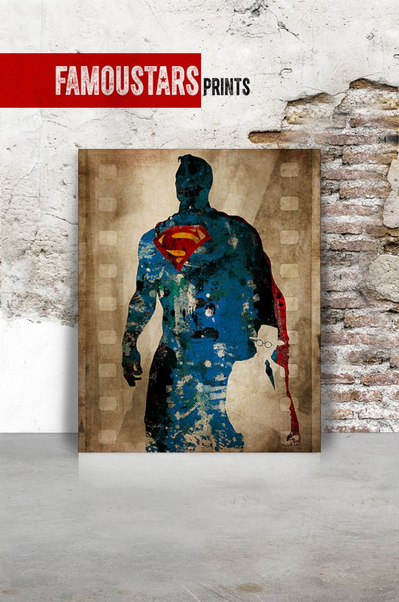 superman nursery decor.htm superman dc comics poster superman postersuperhero clark etsy  superman dc comics poster superman