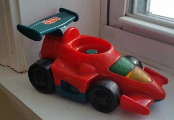 Fisher-Price, Little People, voiture de course