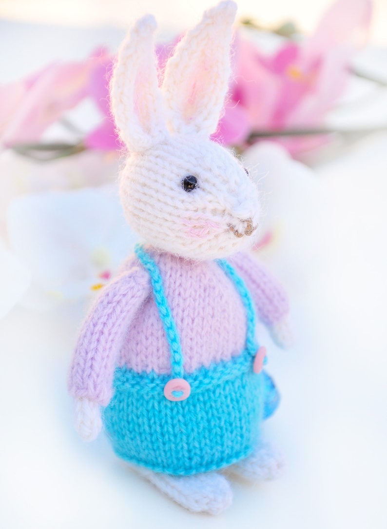 Free Knitting Pattern Easter Rabbit Egg Cosy Knit Toy ...