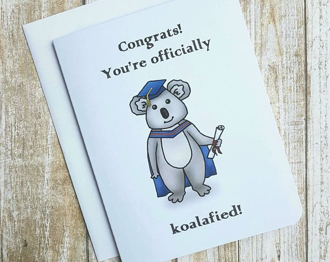 Congrats! You're officially Koalafied Card