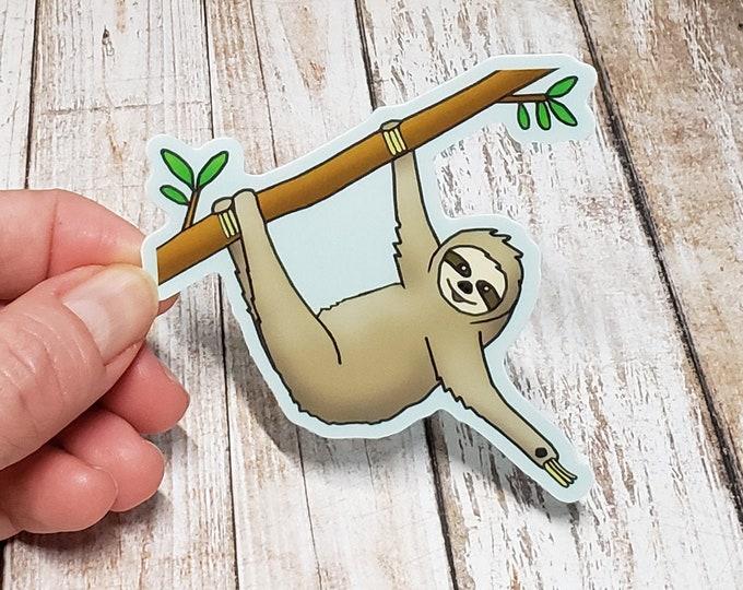 Sloth Vinyl Sticker