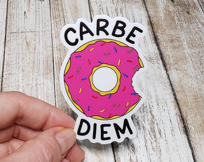 Carbe Diem Vinyl Sticker