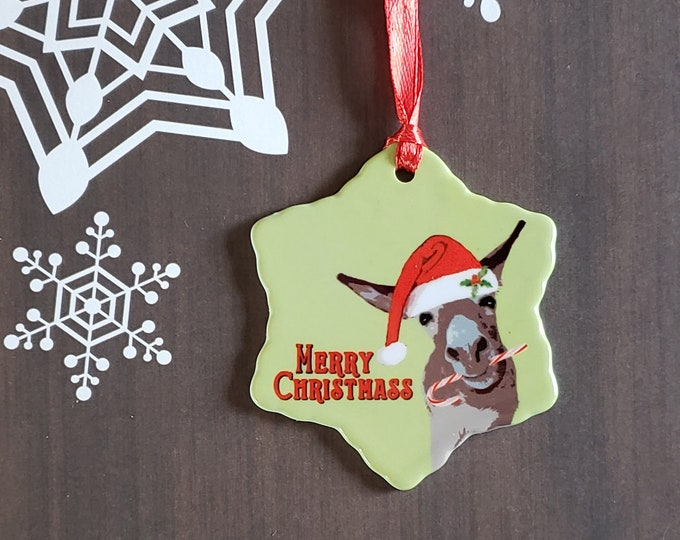 Merry Christmass Ornament
