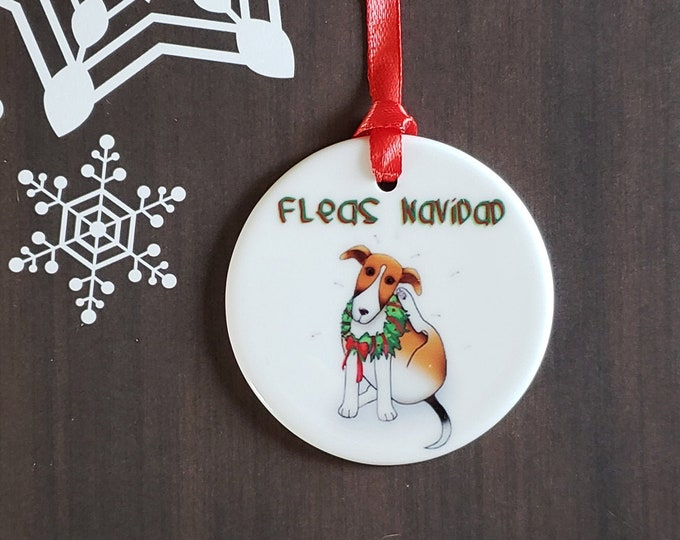 Fleas Navidad Ornament